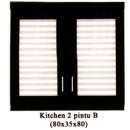 Kitchen Set - 2 Pintu Wika