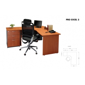 Meja Kantor Arkadia - ProExcel 2