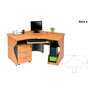 Meja Kantor Arkadia - Rola A