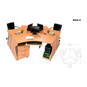 Meja Kantor Arkadia - Rola B
