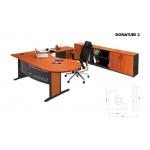 Meja Kantor Arkadia - Signature 3