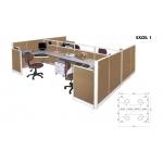 Partisi Kantor Arkadia - Excel 1