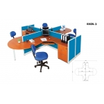 Partisi Kantor Arkadia - Excel 3