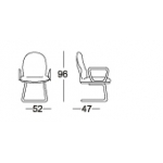 Chairman Top Star Series Chair - TS 01603 A