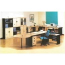 Global Beech & Grey Exclusive - Set Kantor 1