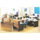 Global Beech & Grey Exclusive - Set Kantor 4
