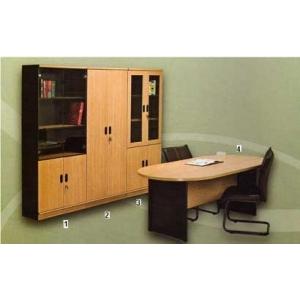 Global Beech & Grey Exclusive - Set Kantor 6