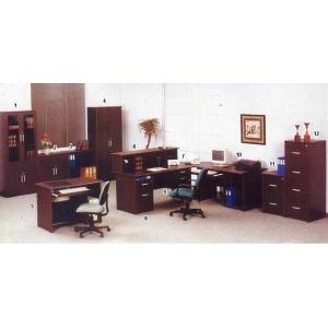 Global Wenge Excellent - Set Kantor 2