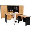 Grand Furniture Nova Beech - Meja Kantor 1