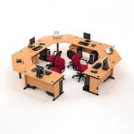 High-Point Five - Meja Kantor 7