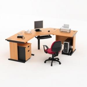 High-Point Five - Meja Kantor 2
