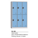 Steel Locker 6 Pintu Modera - ML 886