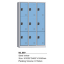 Steel Locker 9 Pintu Modera