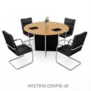 Modera E-Class - Meja Meeting 3