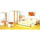 Sucitra Orange Series - Bedroom Set Model 1