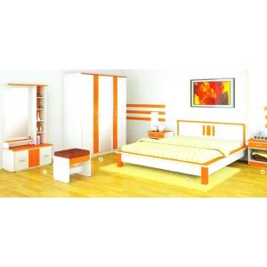 Sucitra Orange Series - Bedroom Set Model 1
